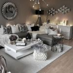 Modern Living Room Ideas With Grey Coloring 27
