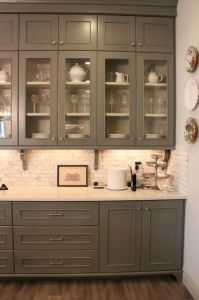 Makeover Your Kitchen Cabinets for More Storage And More Floor Space 32