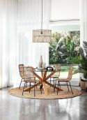 Round Dining Room Tables Decoration Ideas 51