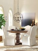 Round Dining Room Tables Decoration Ideas 56