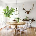 Round Dining Room Tables Decoration Ideas 61