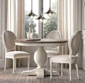 Round Dining Room Tables Decoration Ideas 124