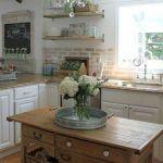 Stunning Small Island Kitchen Table Ideas 56