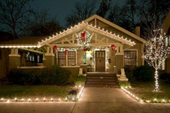 Awful Outdoor Christmas Lights Decoration Ideas