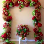 Brilliant Christmas Garland Decorating Ideas 233