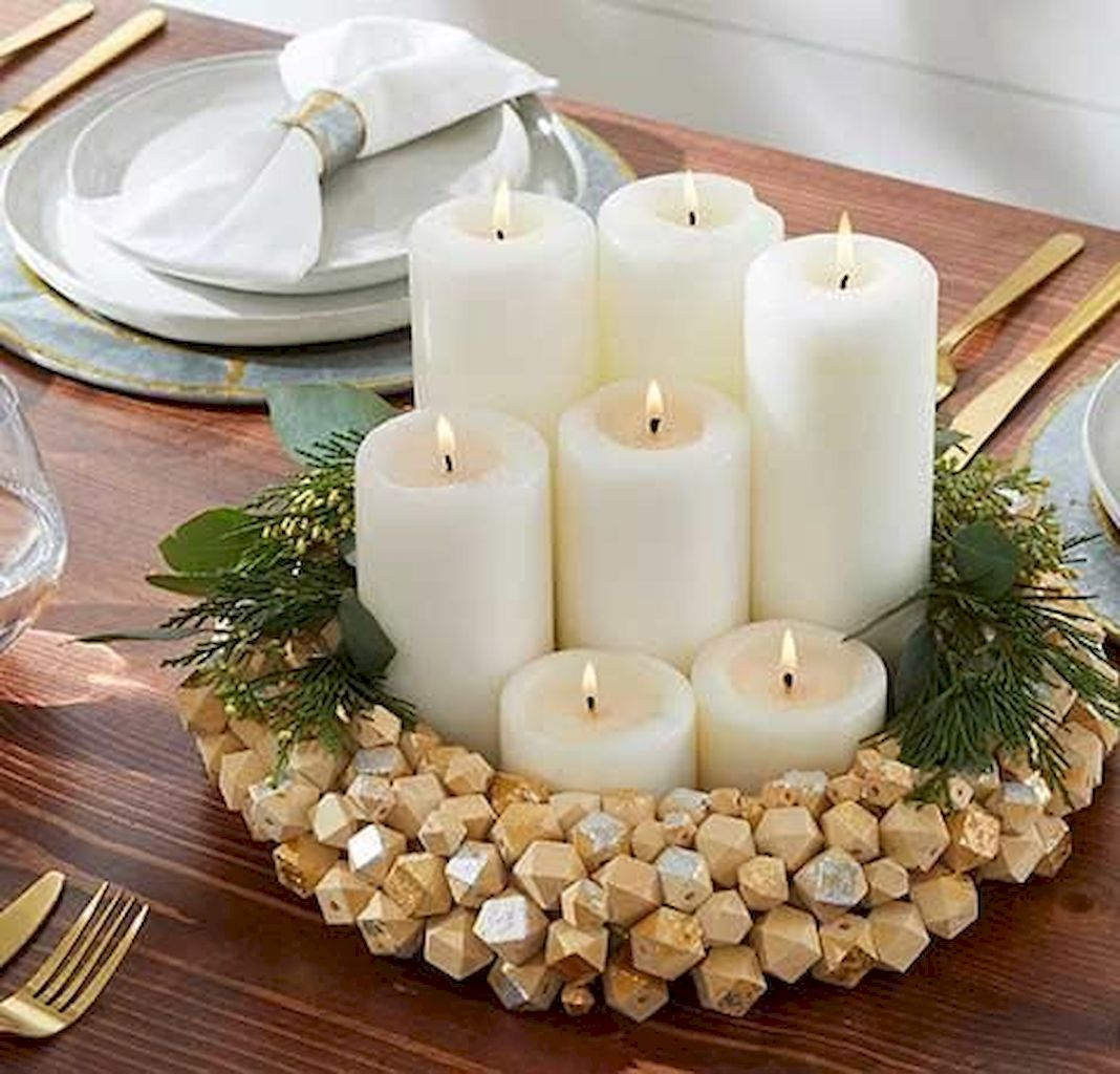Brilliant Thanksgiving Candle Displays Ideas And Placements