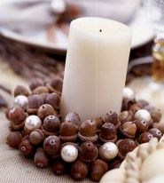 Captivating Thanksgiving Candle Displays Ideas And Placements