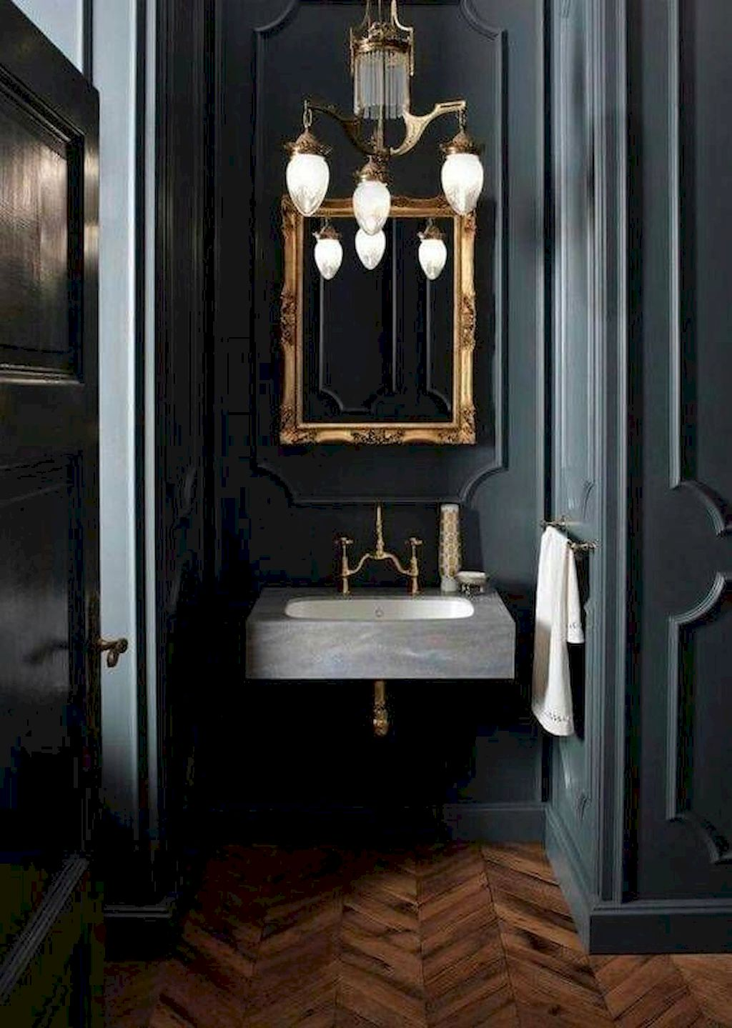 Elegant Stylish Color Scheme For Your Bathroom