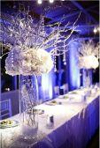 Fabulous Beautiful Winter Wedding Decoration Ideas