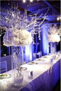 Fabulous Beautiful Winter Wedding Decoration Ideas