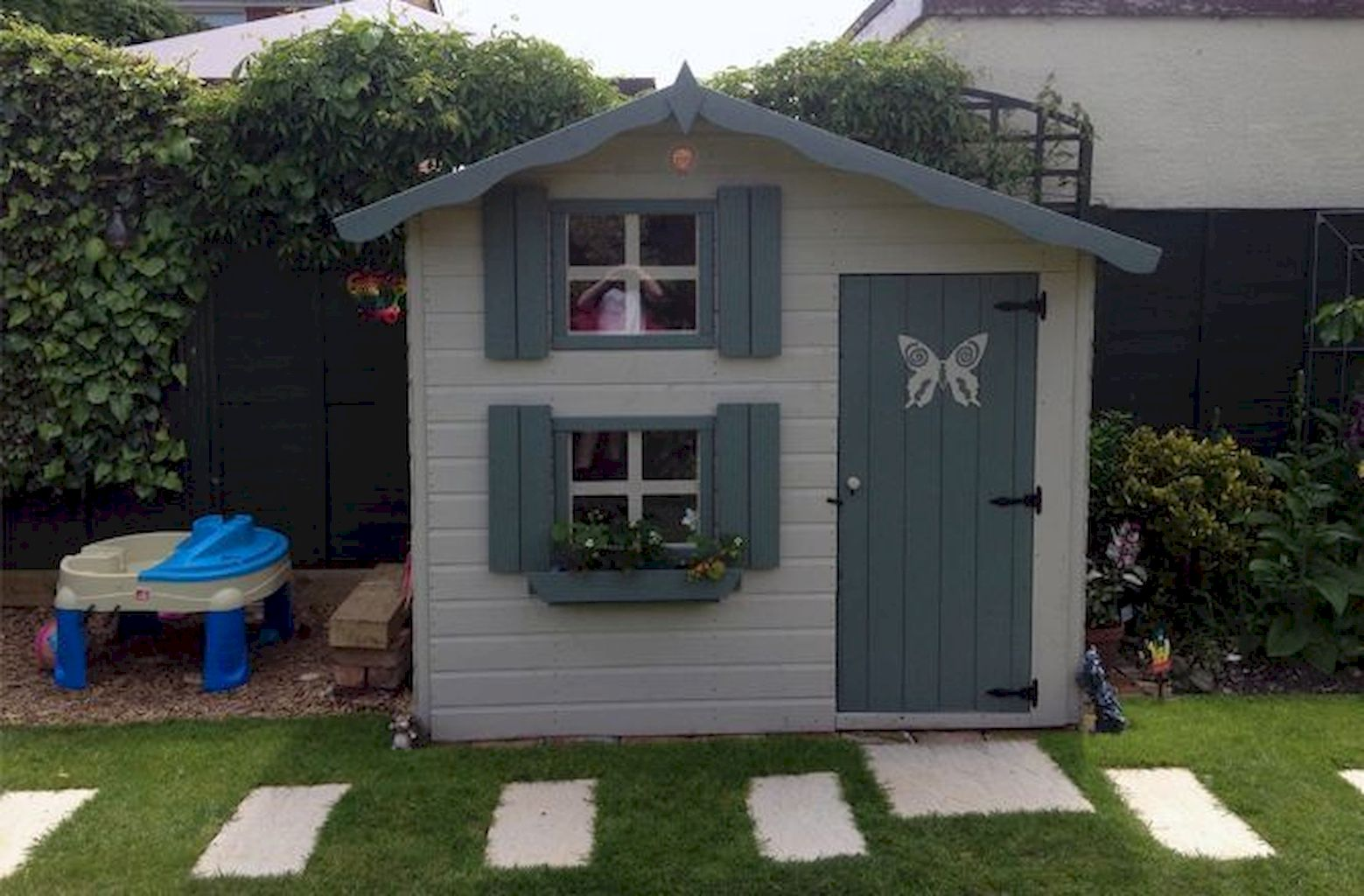 Fabulous Playhouse Plan Into Your Existing Backyard Space