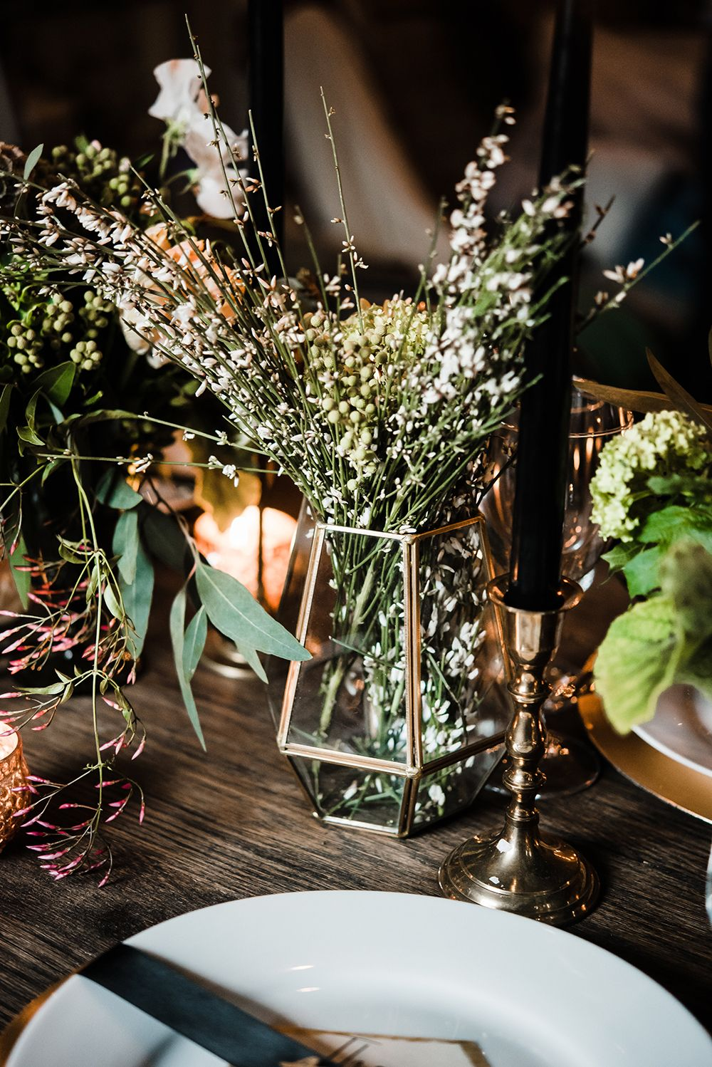 Impressive Beautiful Winter Wedding Decoration Ideas