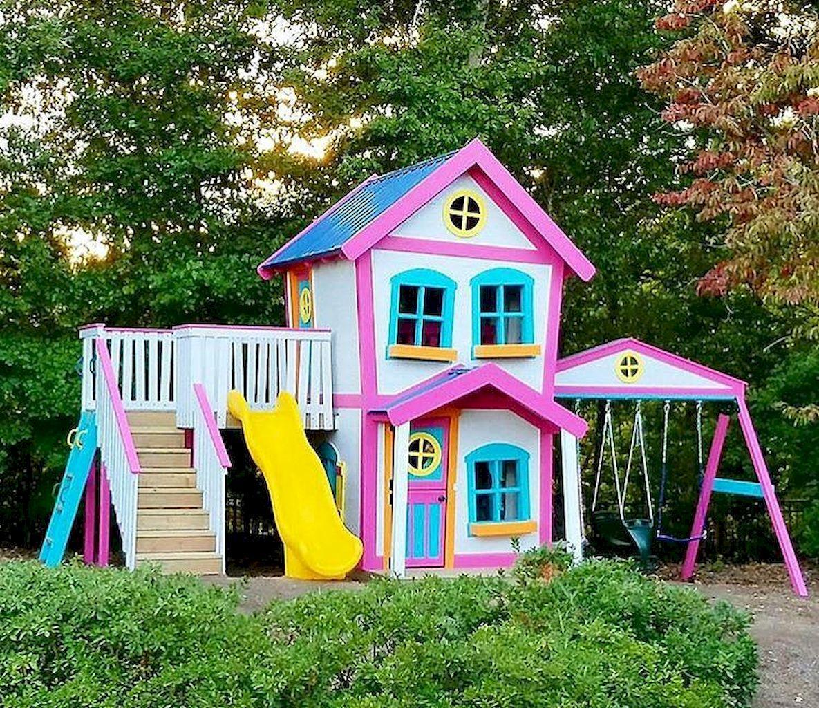 Ravishing Playhouse Plan Into Your Existing Backyard Space