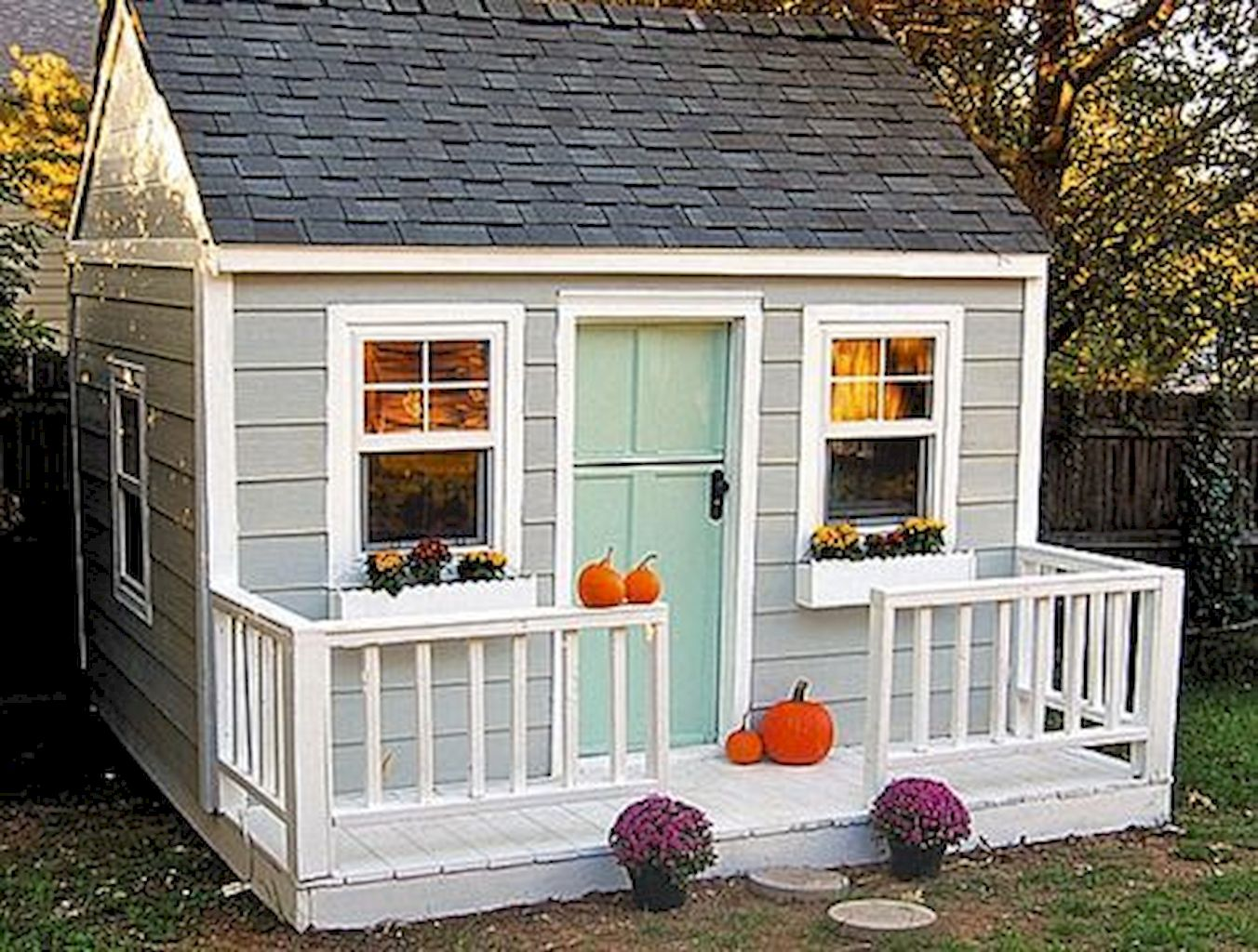 Shocking Playhouse Plan Into Your Existing Backyard Space