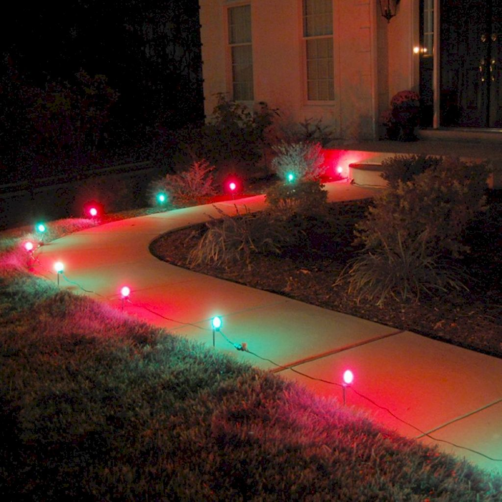Wondrous Outdoor Christmas Lights Decoration Ideas