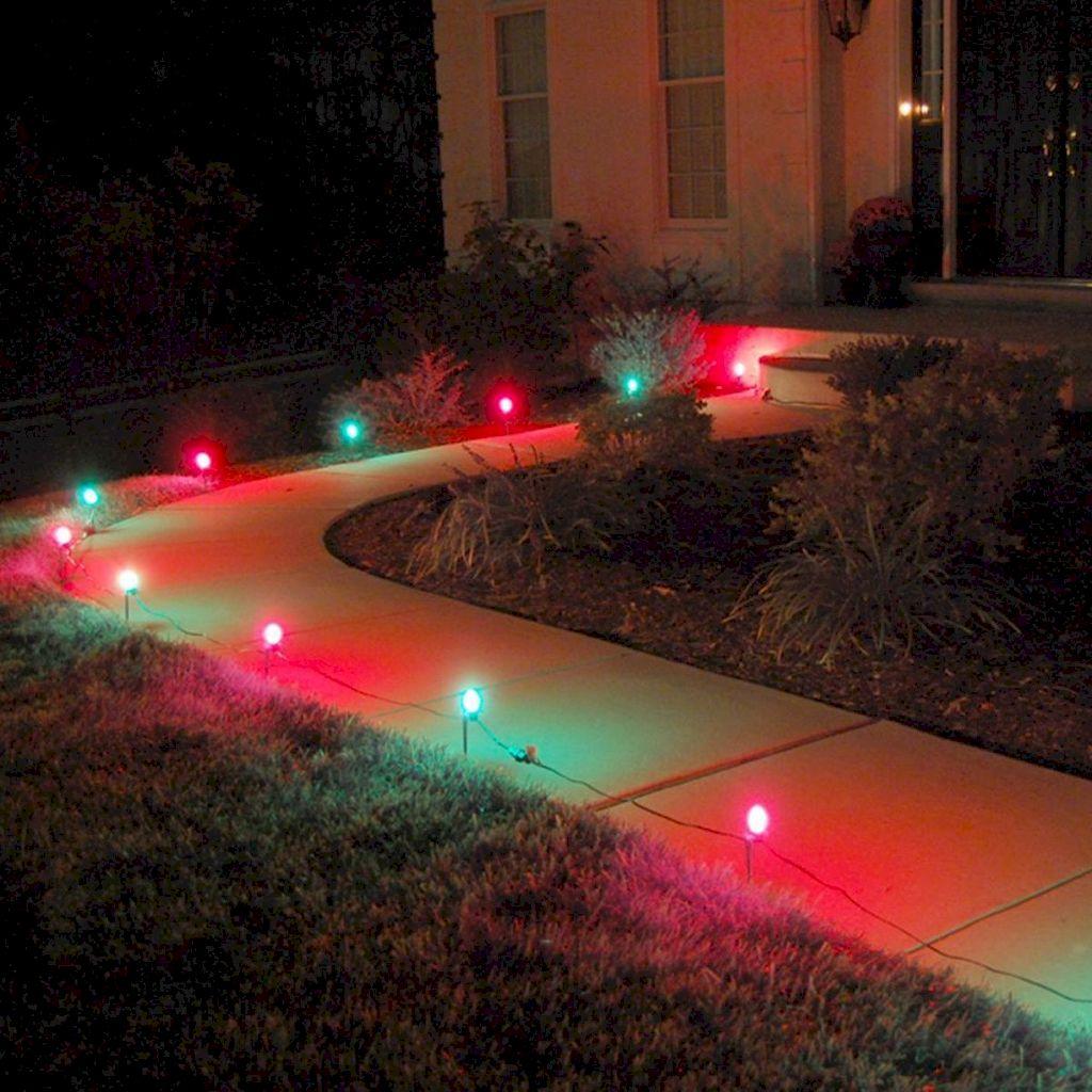 Wondrous Outdoor Christmas Lights Decoration Ideas