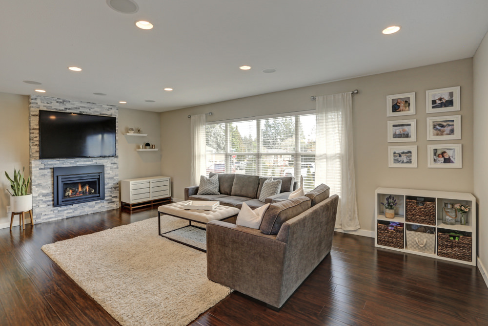The Little Brown Family Room is the perfect family room for kiddies and their grandparents