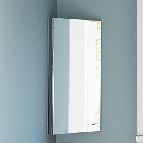 Stainless Steel Bathroom Corner Cabinet  Home treats UK