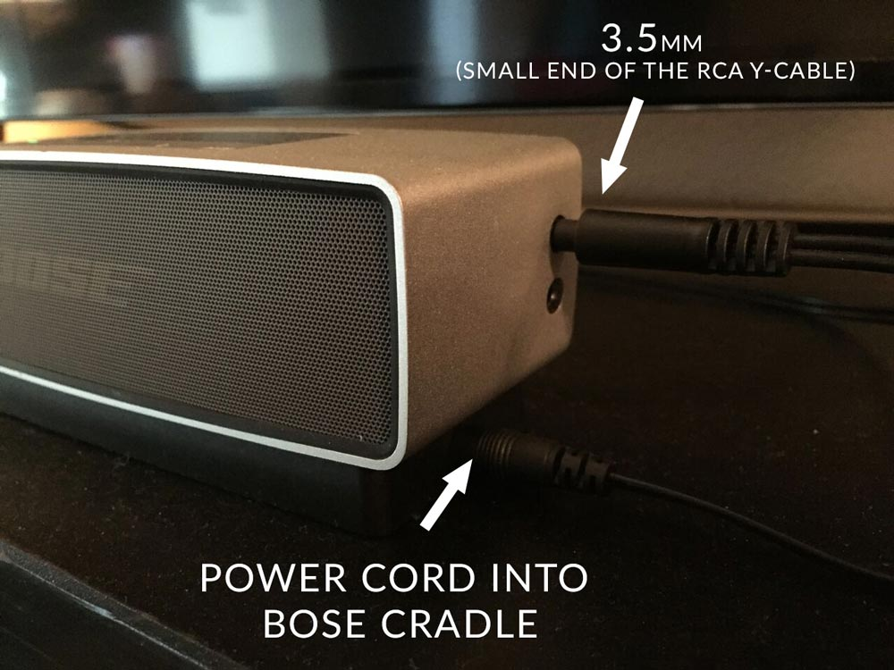 How To Use A Bose Soundlink Mini As A Sound Bar For Your Tv