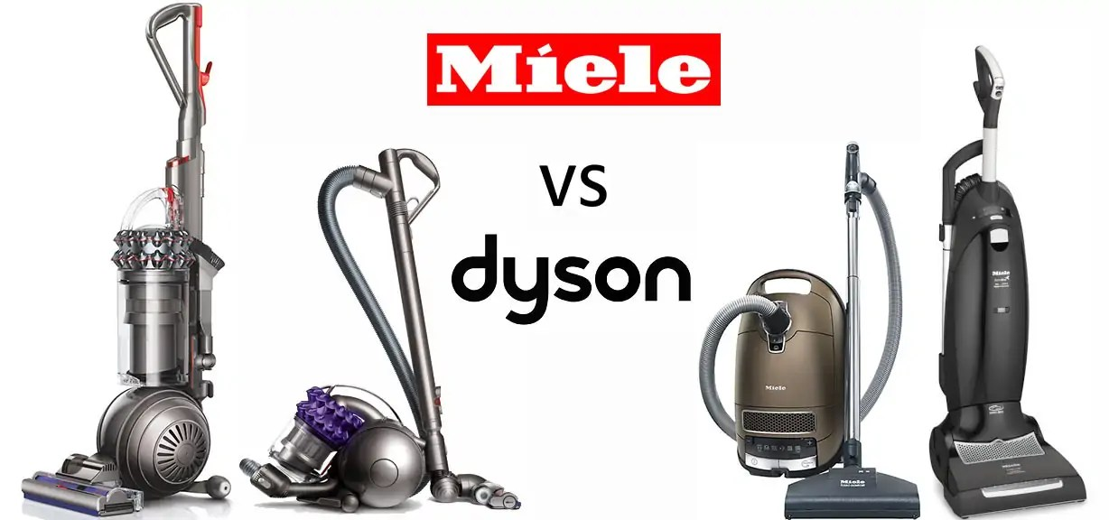 Miele vs Dyson – which vacuum is best?