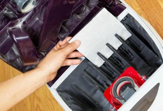 Vacuum filter replacement
