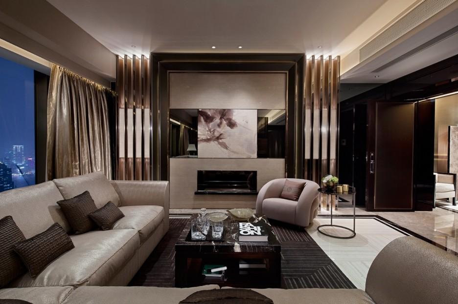 creative luxury living room