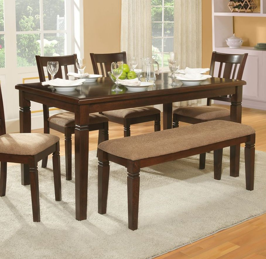 recntagular dining table