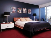 11 Wonderful Dark Blue Bedroom Ideas