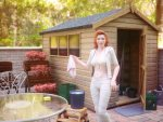 Cleaning A Shed Or An Outdoor Room