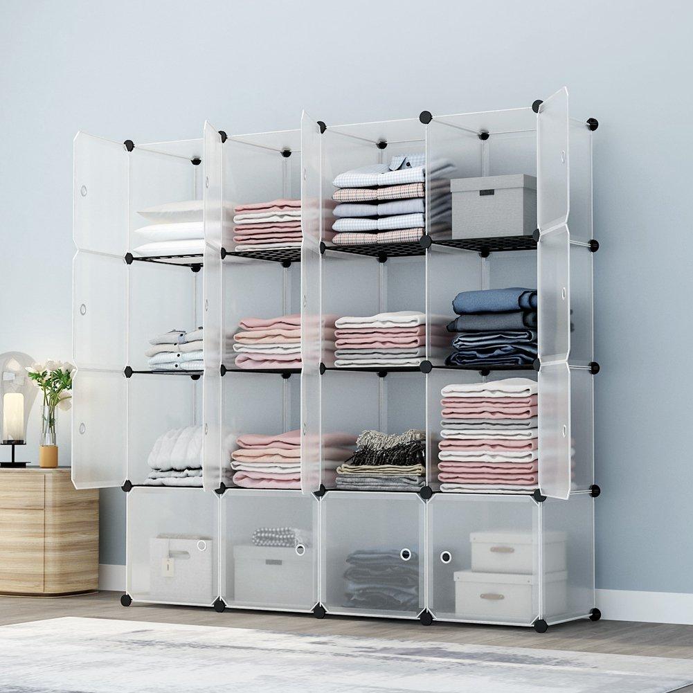 KOUSI Portable Storage Cube Organizer