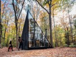 Unique Crystal Shape For A Small Cabin In The Woods