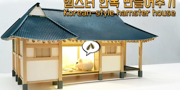 luxury home for hamsters