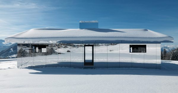 Doug Aitken Mirrored Mirage House