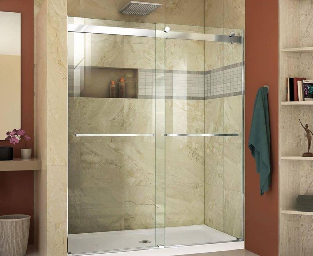 How To Install A Sliding Shower Door Bottom Guide Homeviable