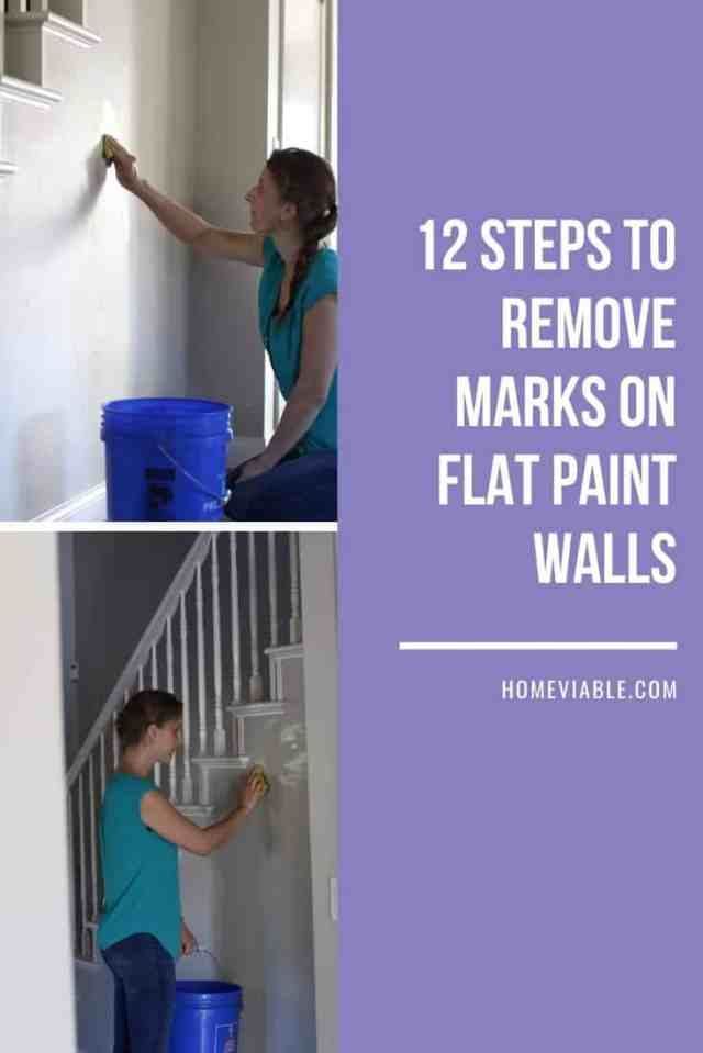 How To Clean Walls With Flat Paint - HomeViable