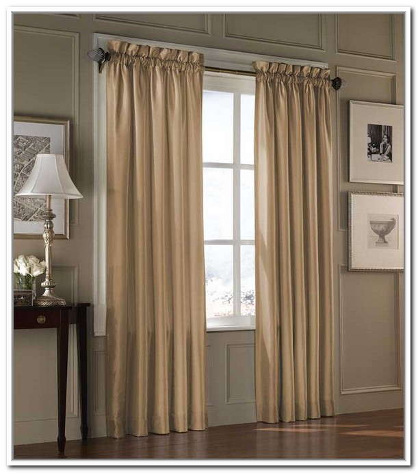 Hanging Curtain Rods On Window Frame Homevshouse