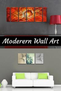 Abstract Wall Art - Modern Canvas Wall Art