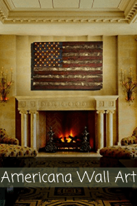Americana Wall Art - Patriotic wall art - patriotic wall art decor -