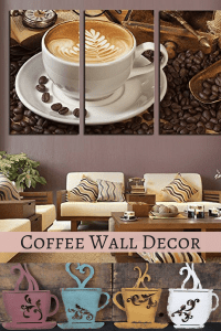 coffee wall decorations - splendid coffee wall art decor