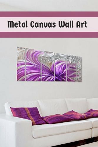 Metal Canvas Wall Art - Metal canvas home wall art decor