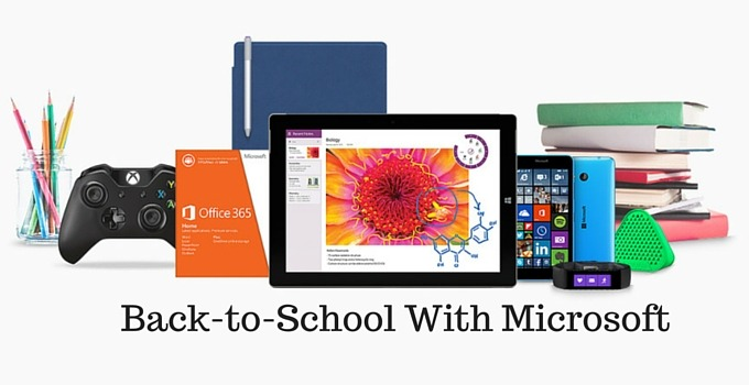Back-to-School With Microsoft