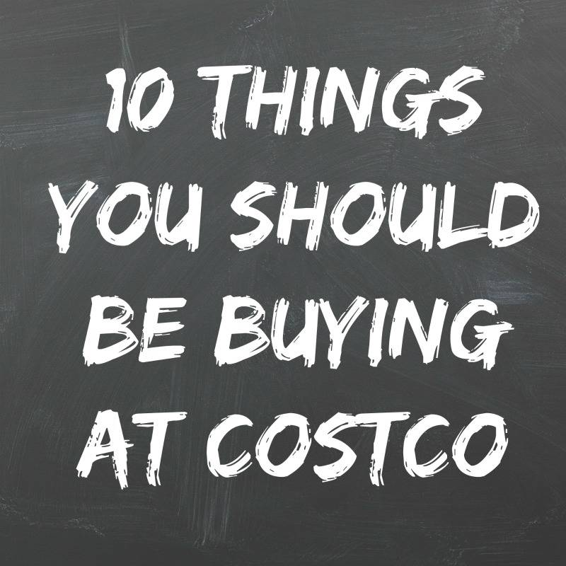 The 10 things you should be buying at Costco to save time and money