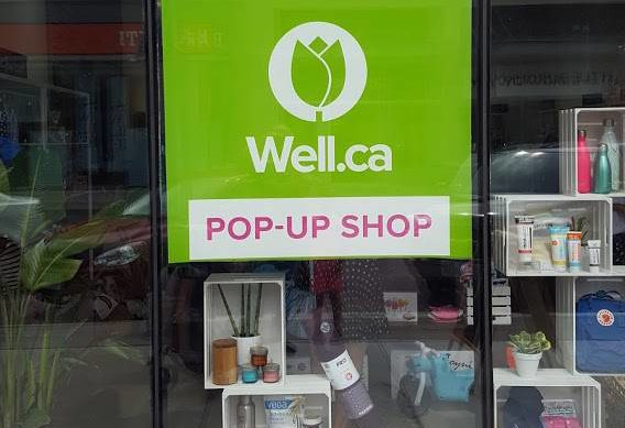Well.ca pop-up shop