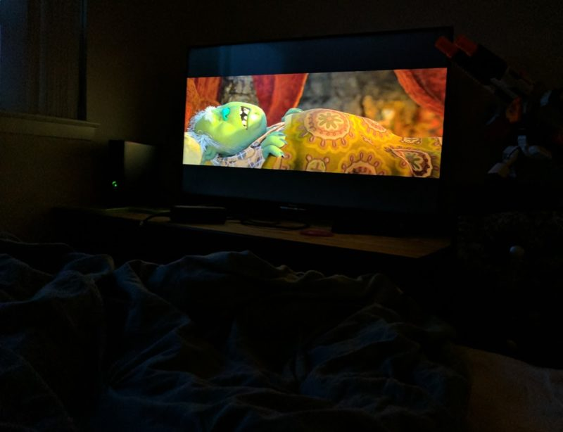 trolls family movie night