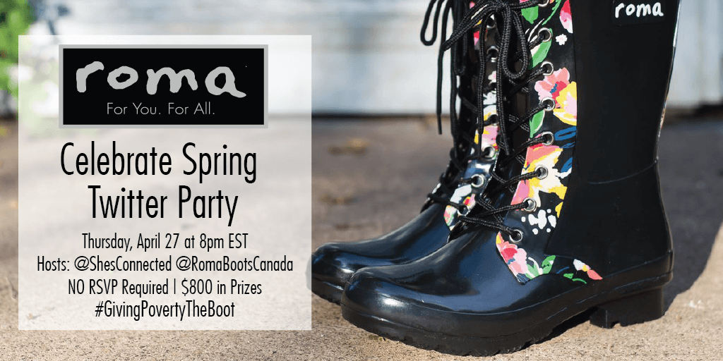 Give the Gift of Education and New Boots to a Child in Need With Roma Boots + #GivingPovertyTheBoot Twitter Party