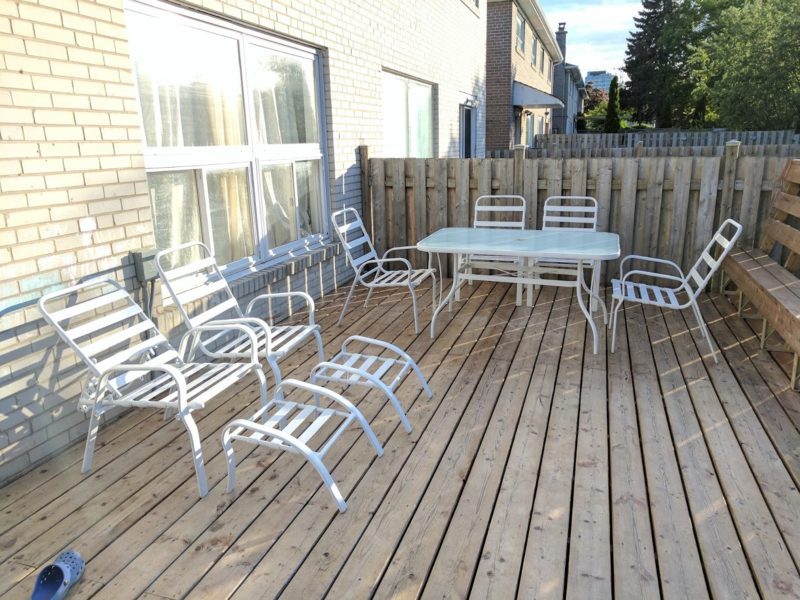 update old patio set