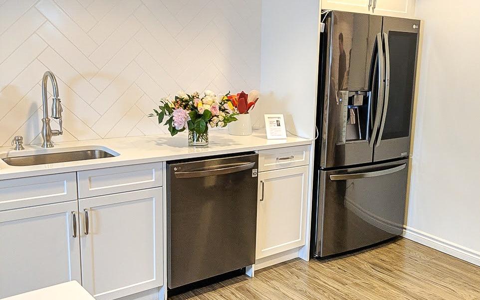 Dream Kitchen Wishlist: LG InstaView™ Door-in-Door® Refrigerator and QuadWash™ Dishwasher