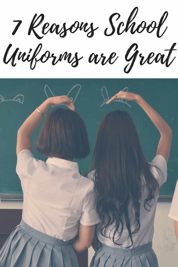 7 Reasons School Uniforms are Great