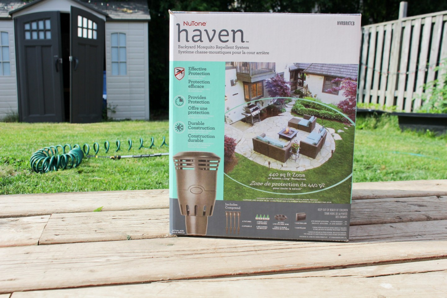 NuTone Haven Backyard Mosquito Repellent System Review ...