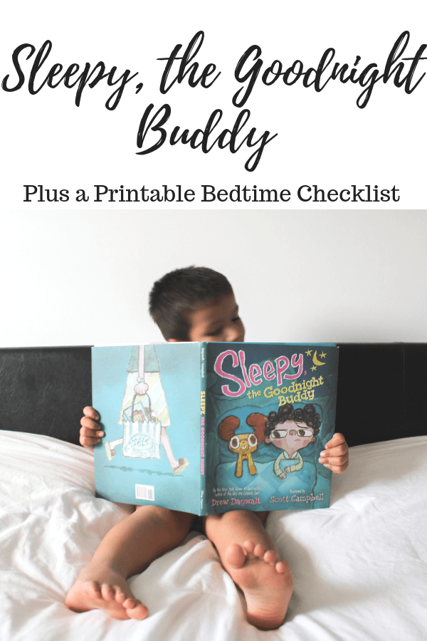 Sleepy, the Goodnight Buddy Plus a Printable Bedtime Checklist #SleepytheGoodnightBuddy